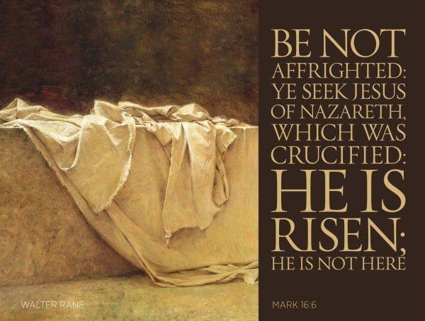 HE IS RISEN - HALLELUJAH!
