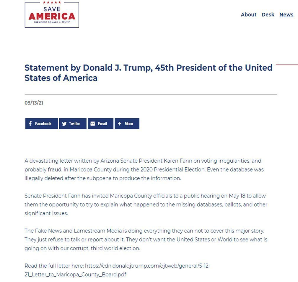 president trump wants everyone to know what the media won039t tell you
