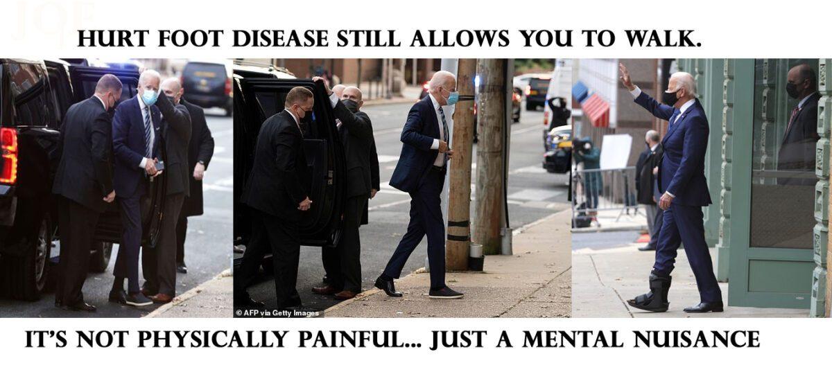 """HURT FOOT DISEASE"" WORST THAN COVID PLANDEMIC..."