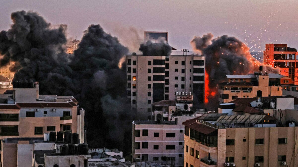 TAKE TWO ASPIRIN AND DON'T CALL JOE IN THE MORNING... ISRAEL RETURNS FIRE ON GAZA ...