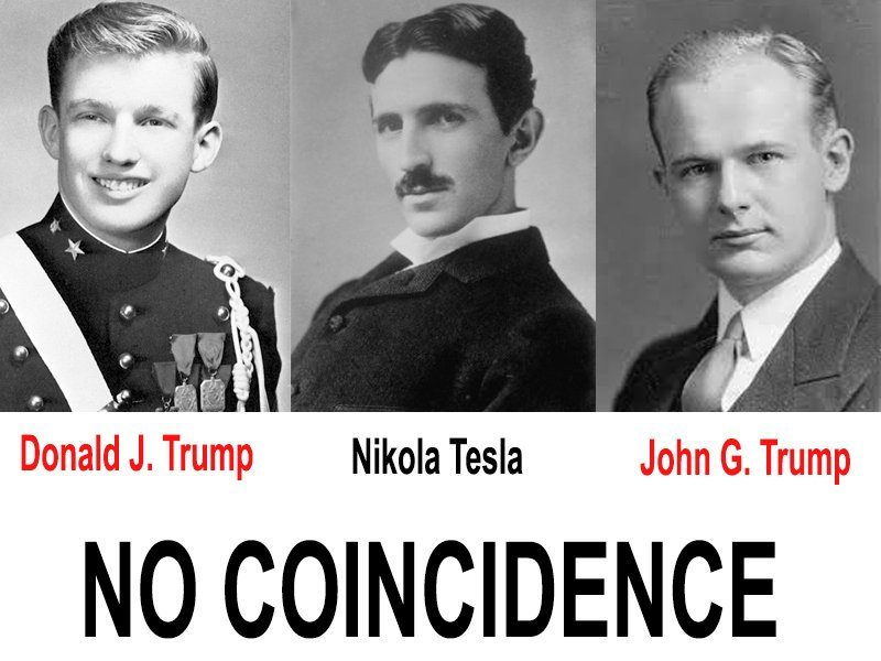 TESLA EXPOSED THE CABAL IN HIS WORK...WHO KNEW? TRUMP KNEW!
