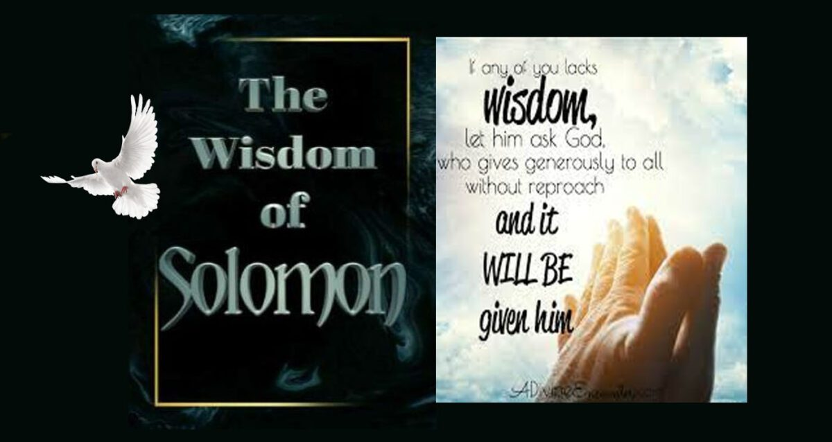 The Holy Spirit Of The Lord...Here is Wisdom...