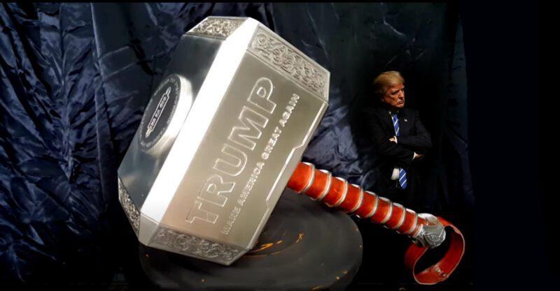 don trump jr trump just dropped the hammer