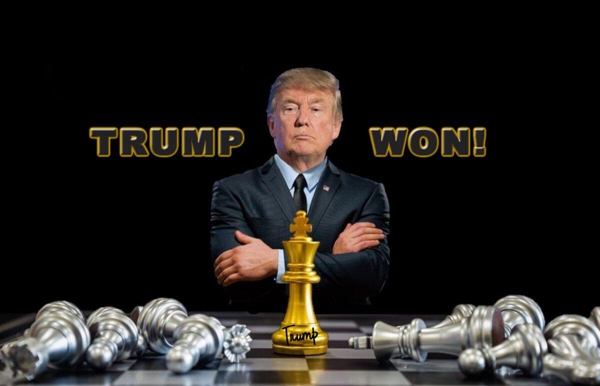 PRESIDENT TRUMP WON!