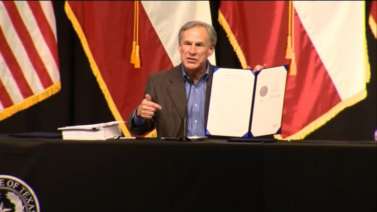 TEXAS GOVERNOR GREG ABBOT TAKES CONTROL OF BORDER!