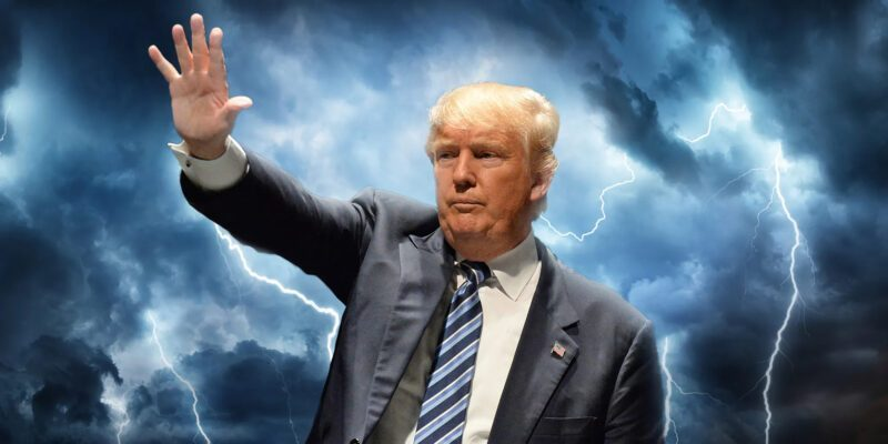 THE REAL STORM IS HERE - WE NEED PRESIDENT TRUMP!