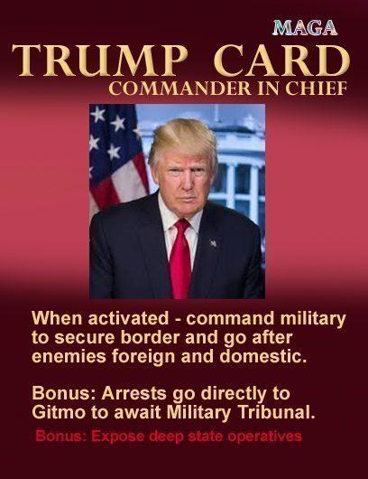 trump card commander in chief 777copy