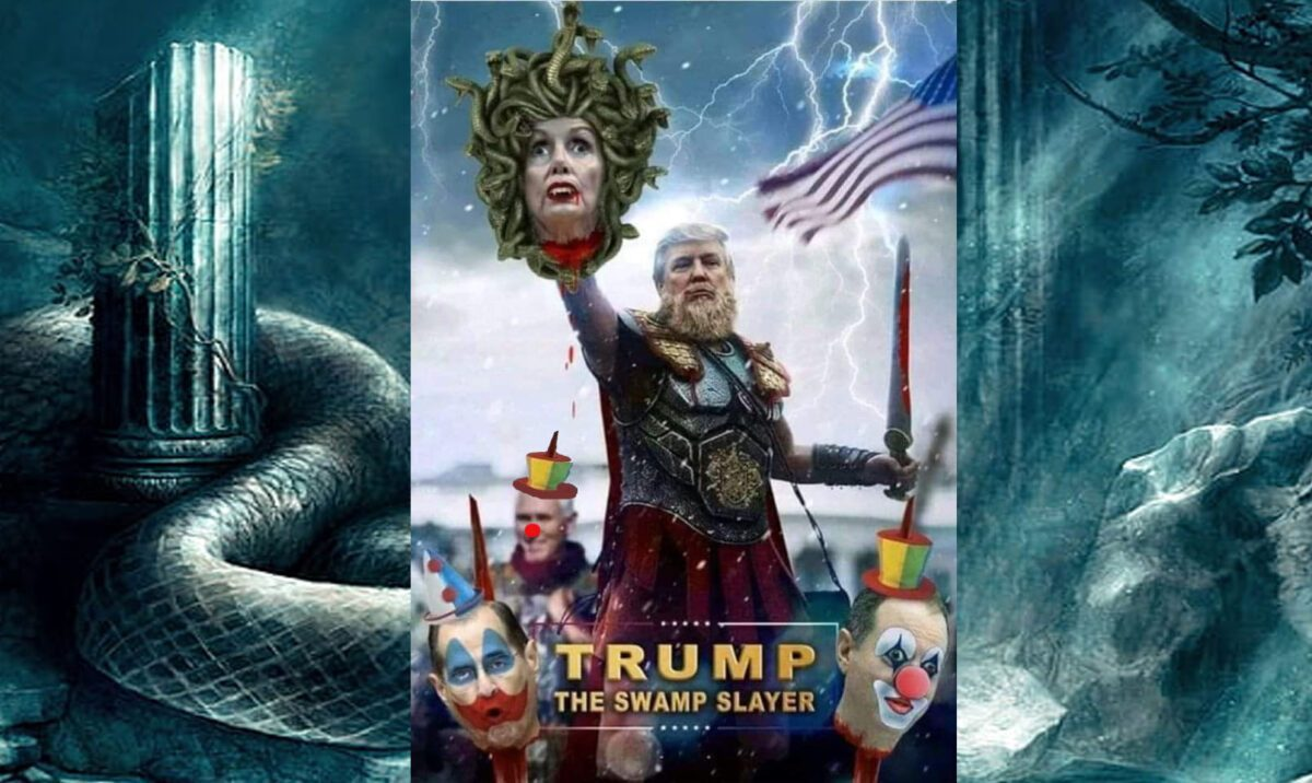TRUMP IS DRAINING THE SWAMP AND THE GLOBAL CABAL!