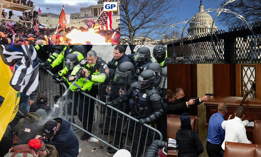 TRUTH PREVAILS AS EYE WITNESS ACCOUNT SHOWS CAPITOL POLICE FIRED ON CROWD TO PROVOKE PROTESTORS BUT FAILED!