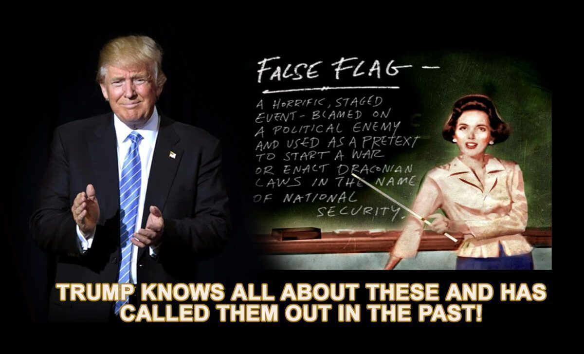 DON TRUMP FALSE FLAGS copy