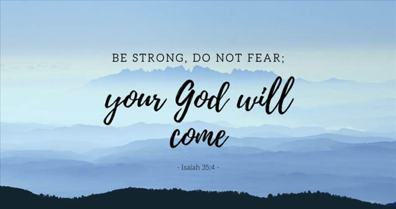 fear not your